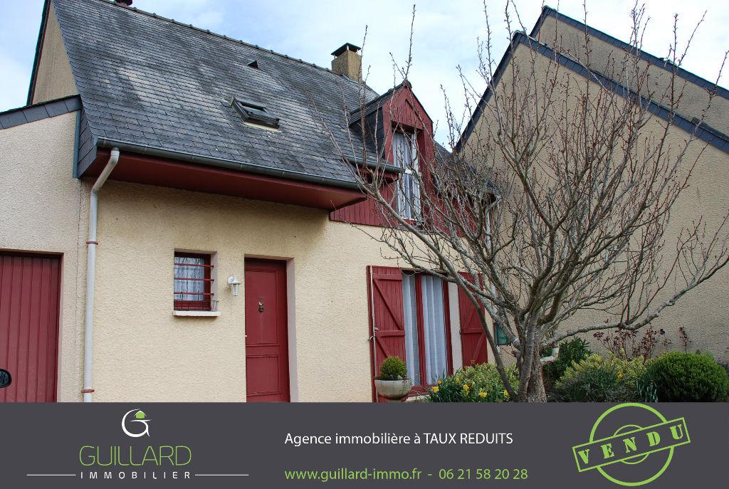 Maison  5 pièces, terrain 483m² - RENNES La Bellangerais