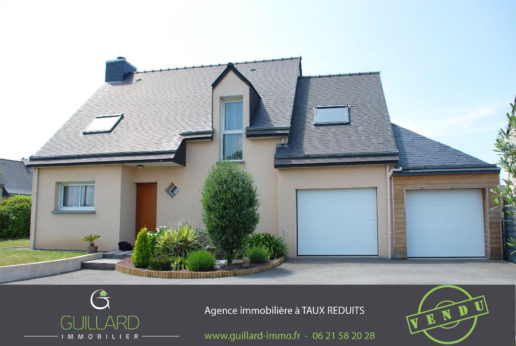 Maison Contemporaine -BRIE -4 chambres  et bureau -15 mn Rennes