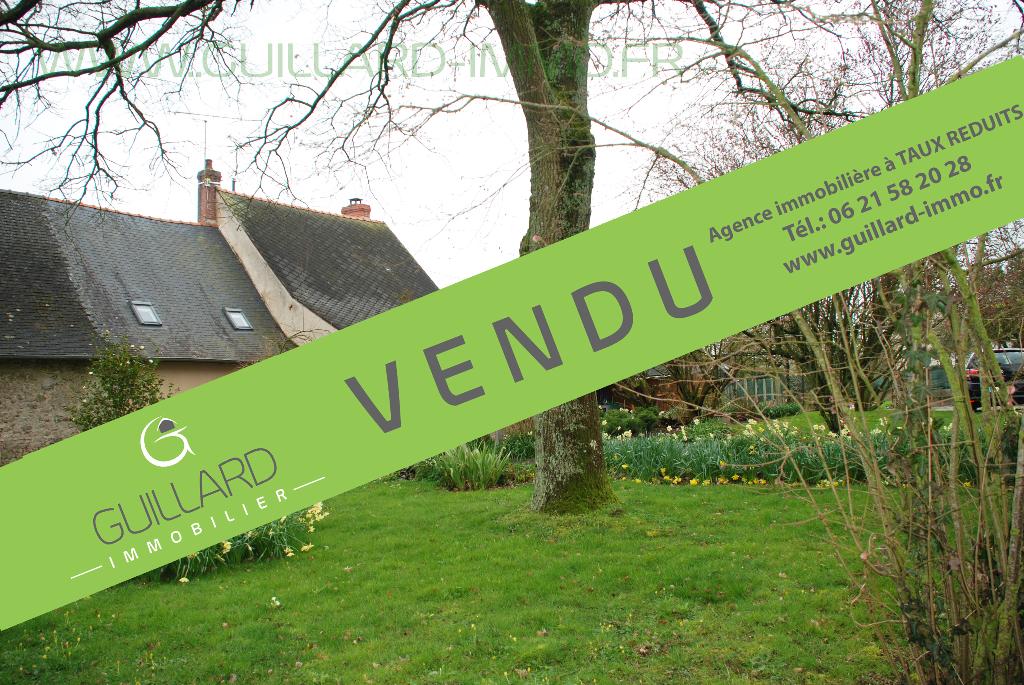 Longère  de 136 m²  - terrain de 3 000 m² à 5 mn de Châteaugiron