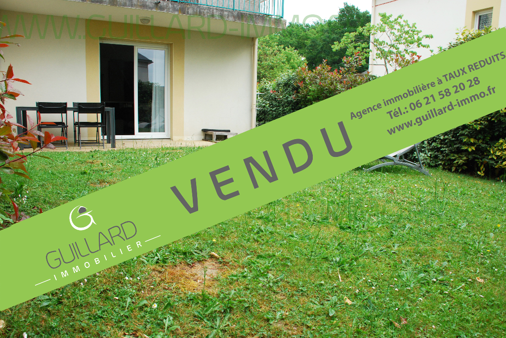 Appartement rez-de-jardin-  3 chambres 82.67 m2