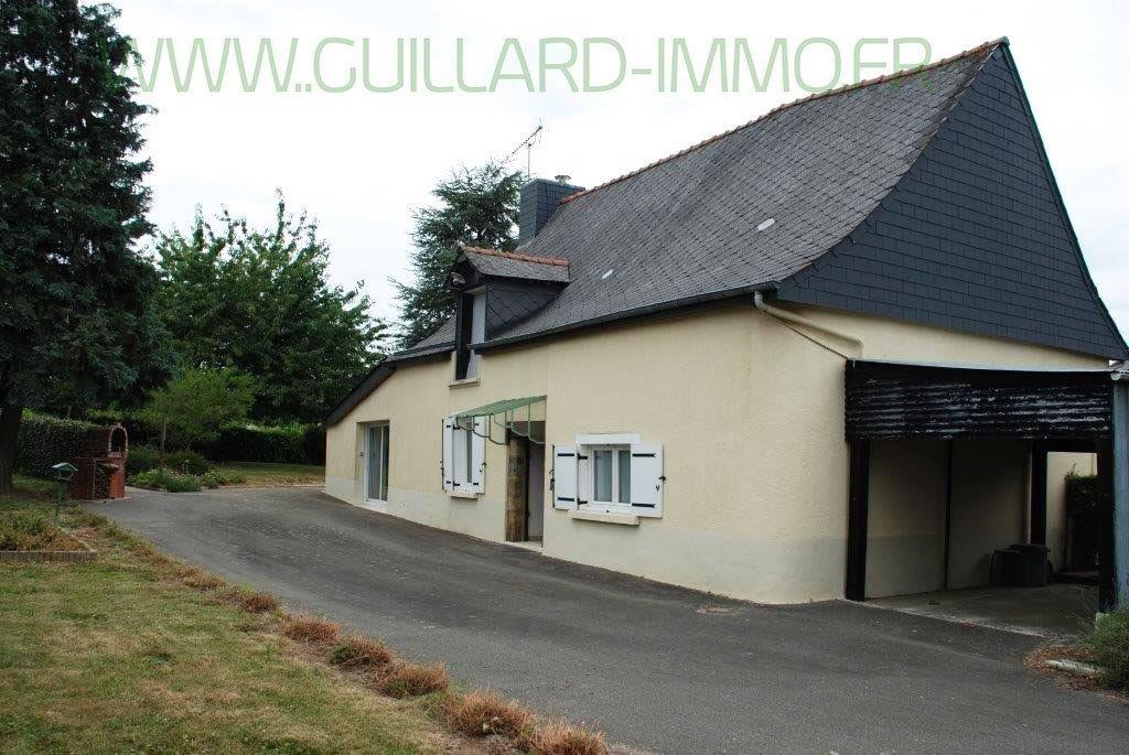 Maison Domagne - 2 500 m² terrain clos