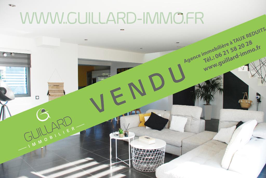 Maison  contemporaine non mitoyenne de 2014 - Domloup à 3 minutes de Châteaugiron - 5 chambres - 167m²